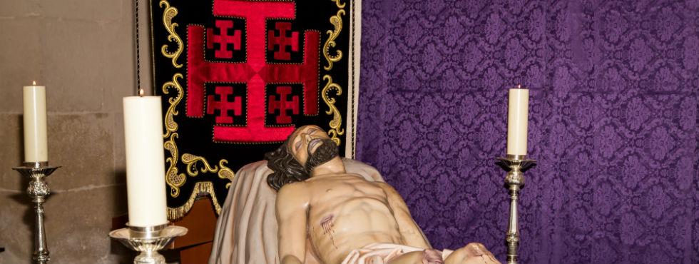 Cristo Yacente – Santo Sepulcro