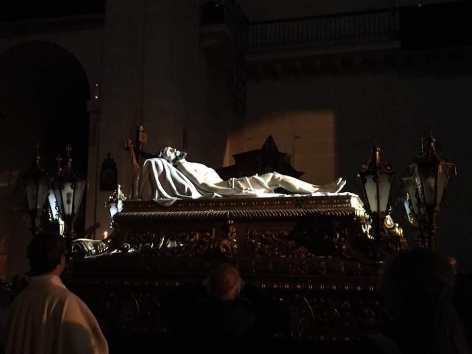 14 De Abril De 2017 Viernes Santo, Santo Sepulcro En ALICANTI TV