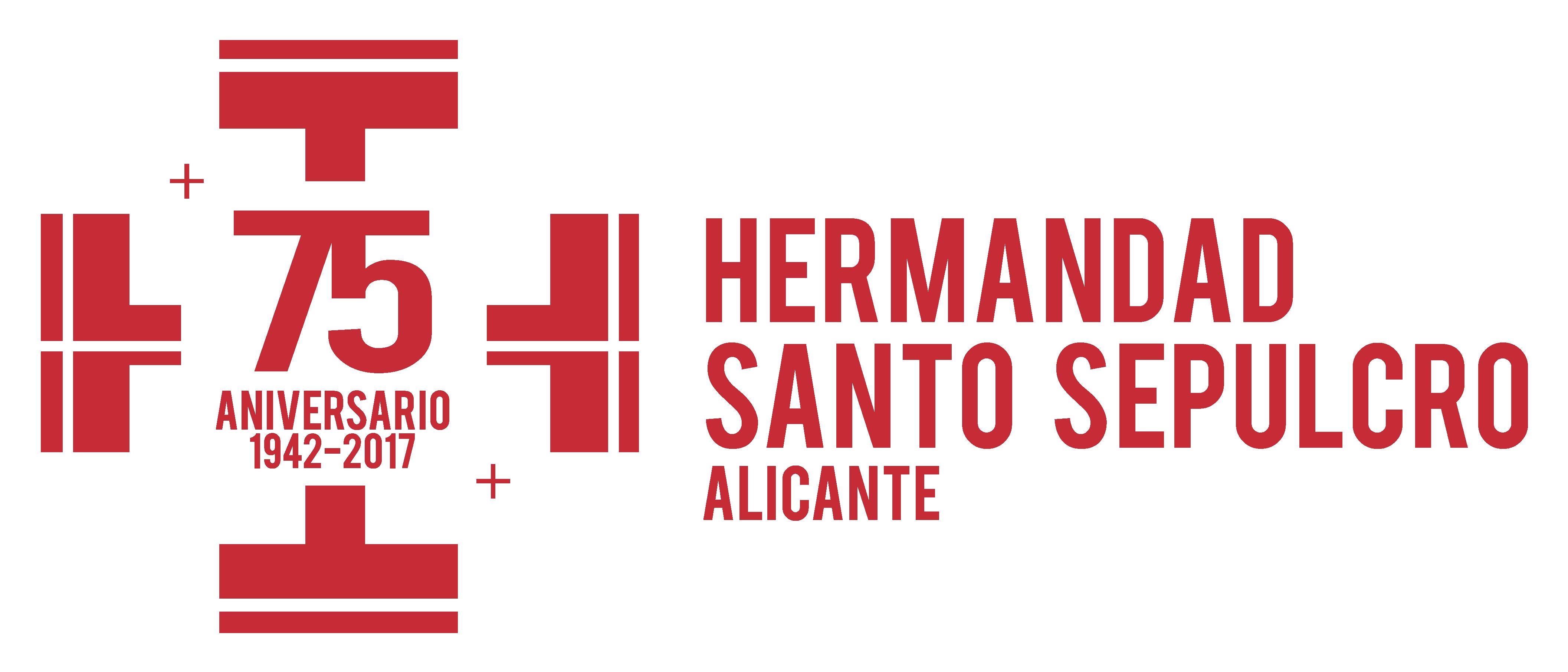 Logotipo 75 Aniversario Hermandad Santo Sepulcro