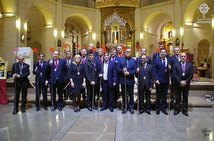 13 De Enero De 2018. Acto Institucional Hermandad Santo Sepulcro En Su  75 Aniversario.