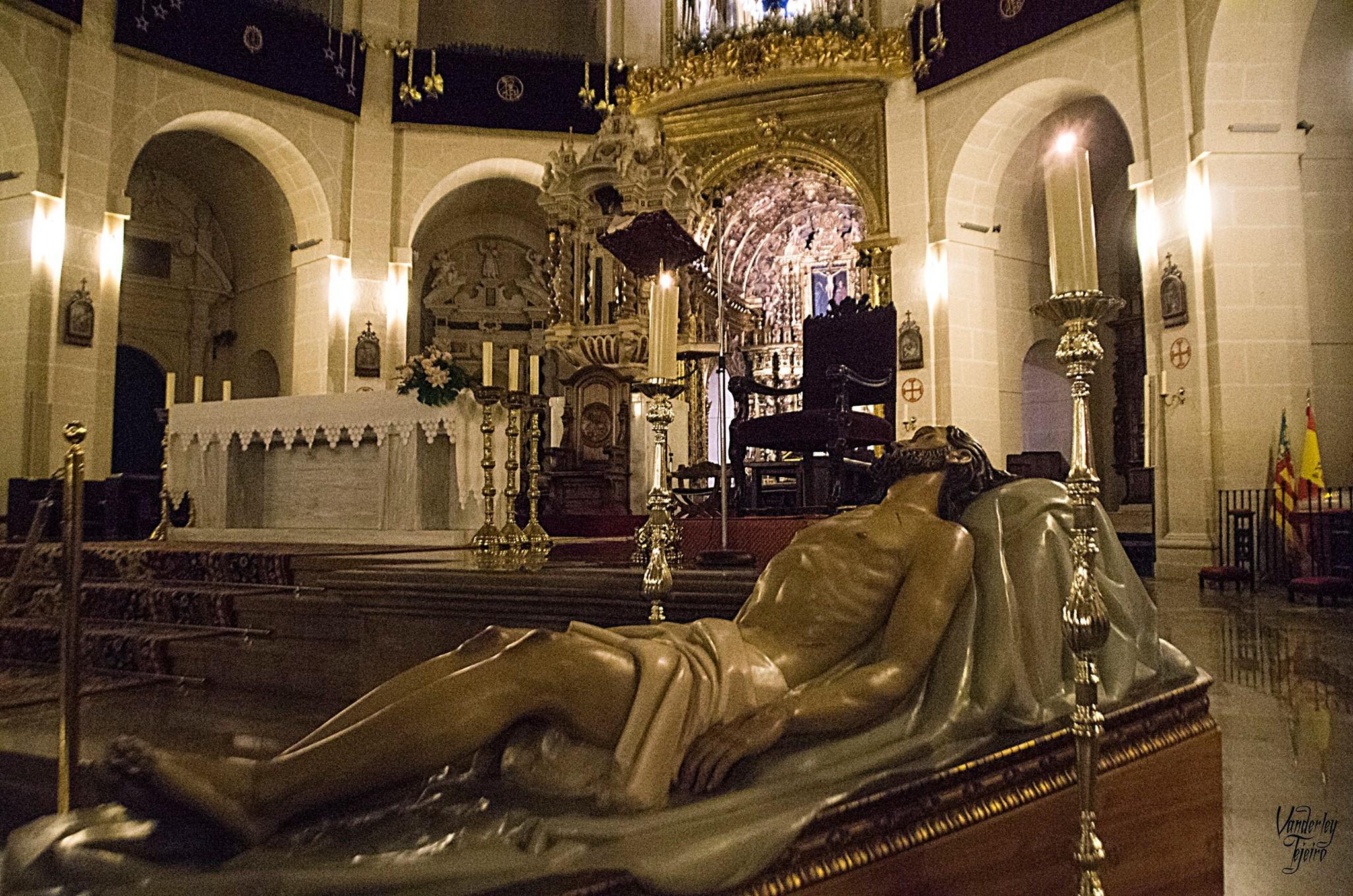 """""""La Hornacina"""" Se Hace Eco De La Restauración Del Cristo Yacente."""