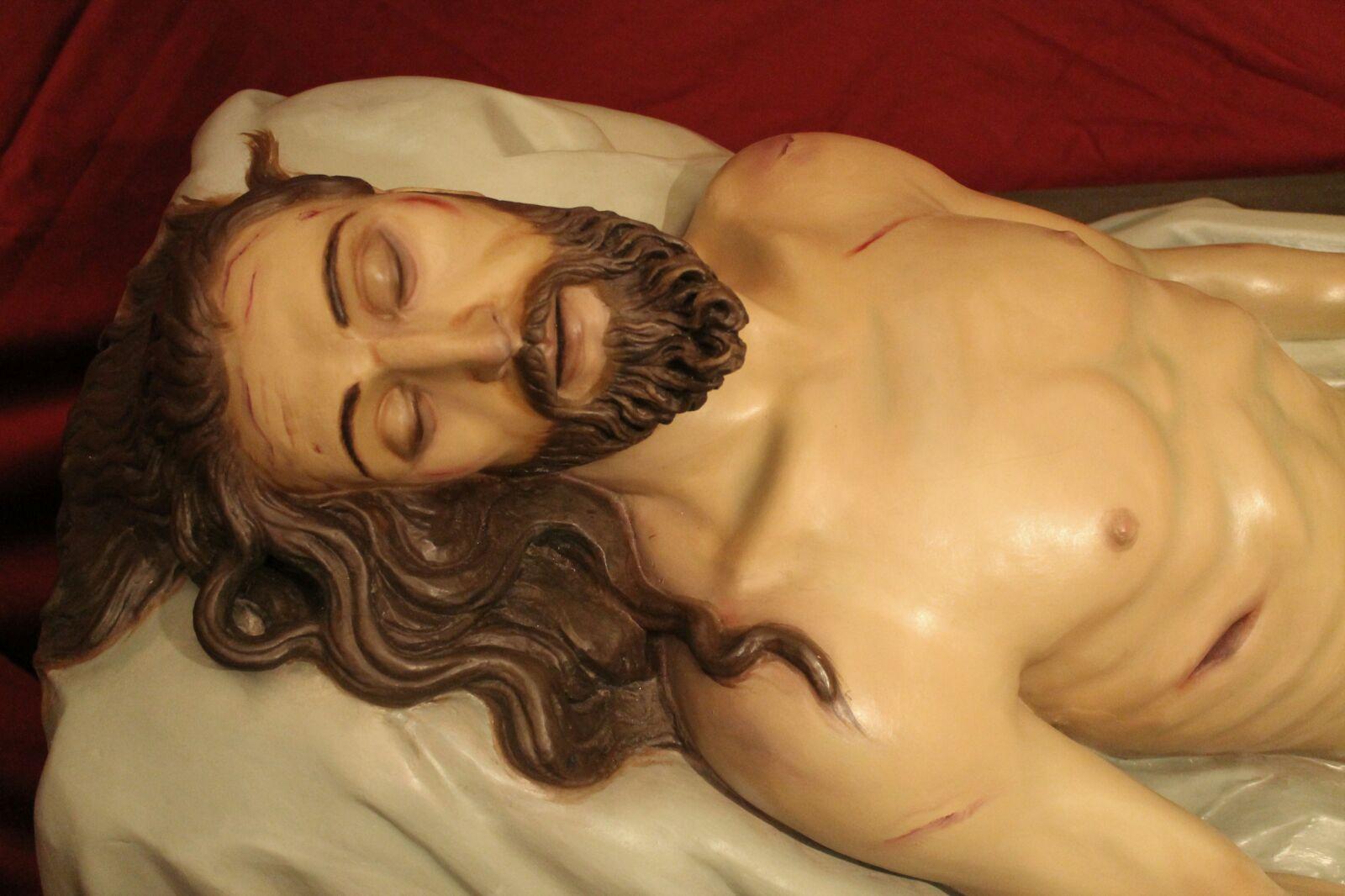 Con Alegría Y Emoción Recibimos La Imagen Restaurada Del Cristo Yacente