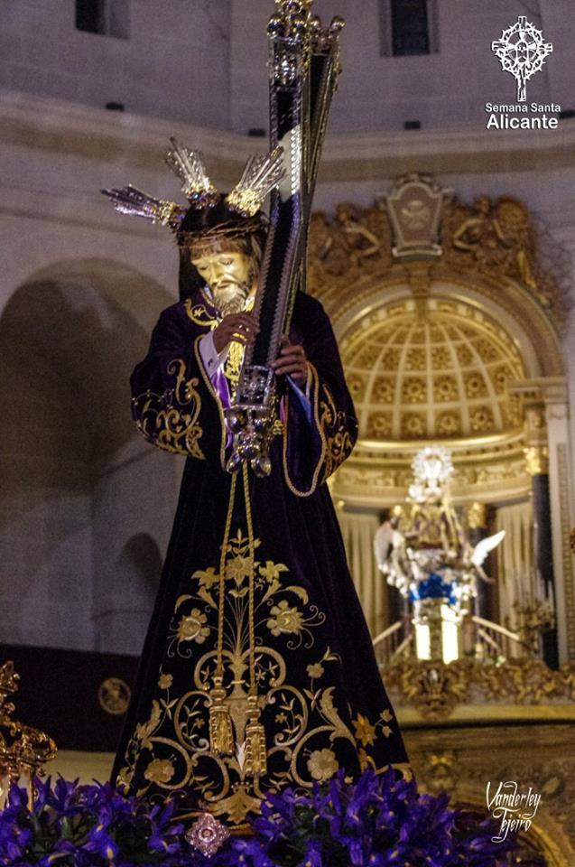 24 De Marzo De 2018. Hermandad Nuestro Padre Jesús Alicante, M.A. Rodas 3, Nuestro Padre Jesús Entra En Concatedral