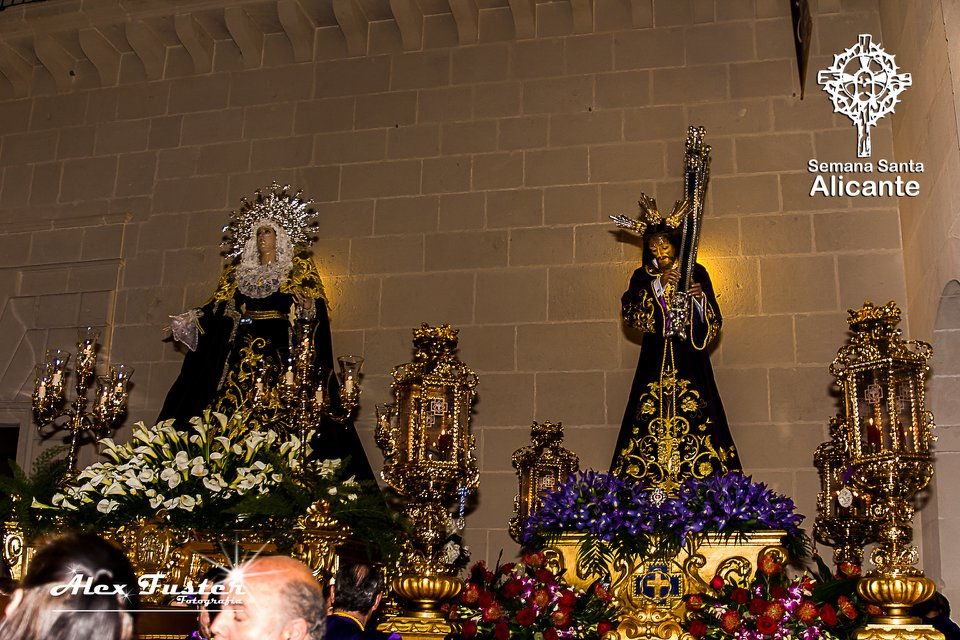 24 De Marzo De 2018. Hermandad Nuestro Padre Jesús Alicante, Racó De Festa. Encuentro