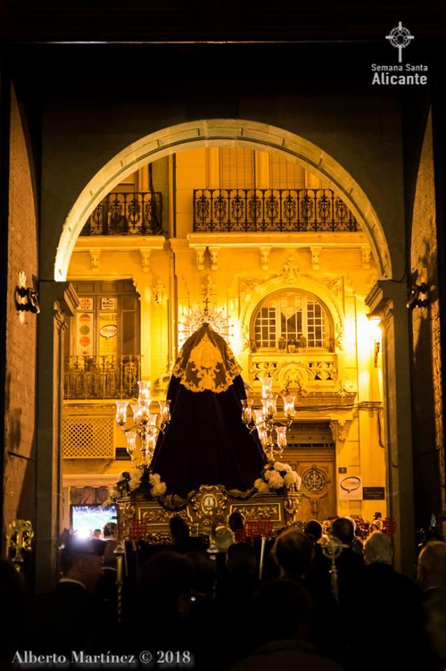 24 De Marzo De 2018. Hermandad Nuestro Padre Jesús Alicante, INFORMACION TV Martes Santo En Alicante