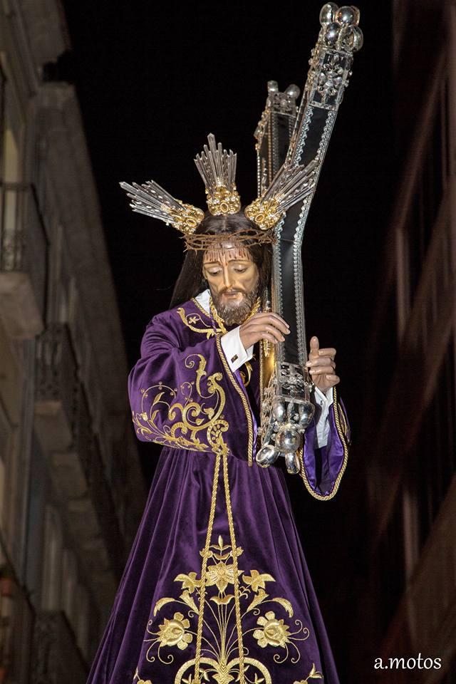 24 De Marzo De 2018. Hermandad Nuestro Padre Jesús Alicante, M.A. Rodas 1, Encuentro Llega Nuestro Padre Jesús