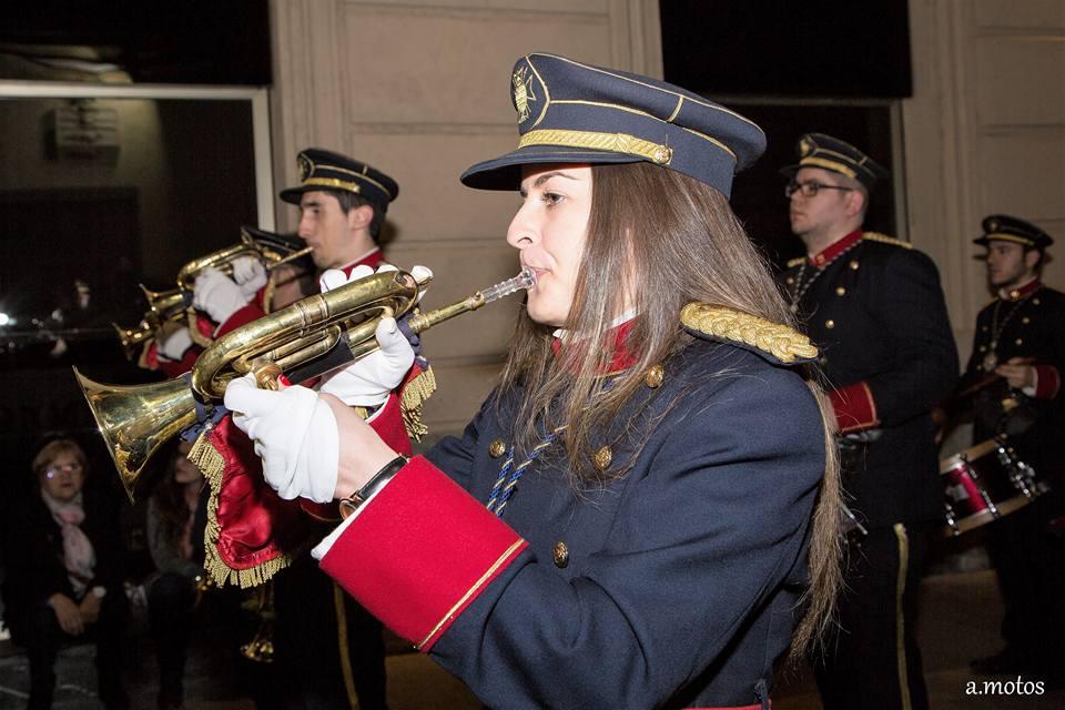 24 De Marzo De 2018. Hermandad Nuestro Padre Jesús Alicante, M.A. Rodas 5, Homenaje A Agrupación Musical Sta. María Magdalena De Yecla