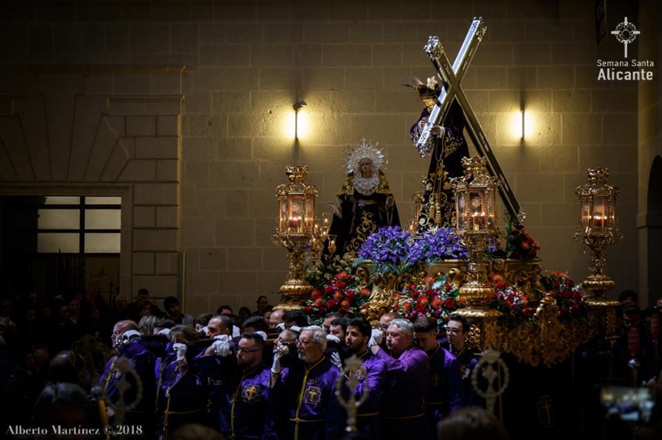 16 De Abril De 2019. Procesión Nuestro Padre Jesús Y Stma. Virgen De Las Penas