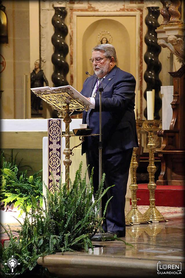 9 De Marzo De 2019. Exaltación A Nuestro Padre Jesús Y Stma. Virgen De Las Penas Realizada Por D. Pedro Torregrosa Orozco
