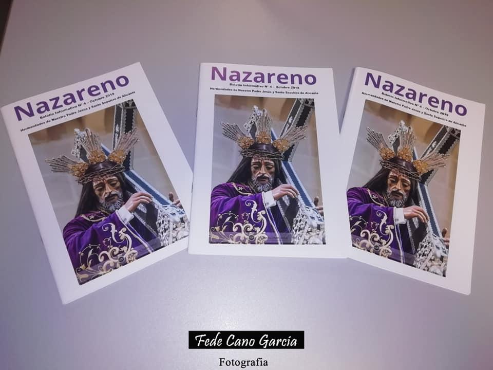 """27 De Septiembre De 2019. Presentación Del Boletín Informativo """"Nazareno Nº 4""""."""