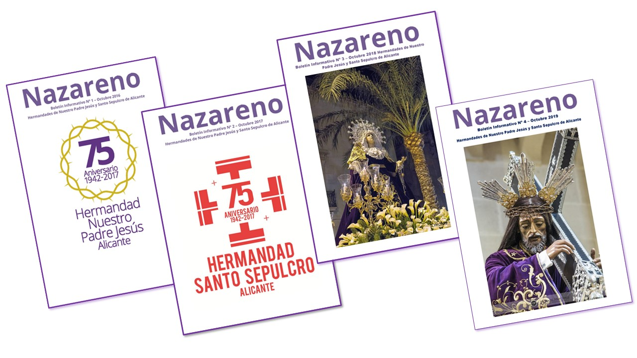 "Boletines Informativos ""Nazareno"""