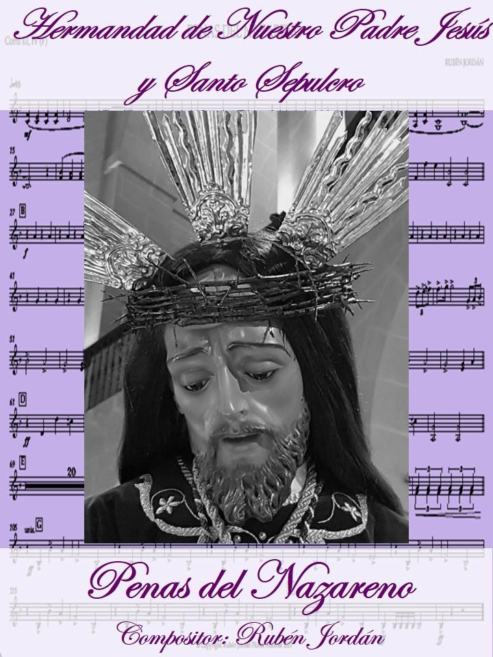 """2 De Marzo De 2021. Presentación Nueva Pieza Musical """"Penas Del Nazareno""""-"""