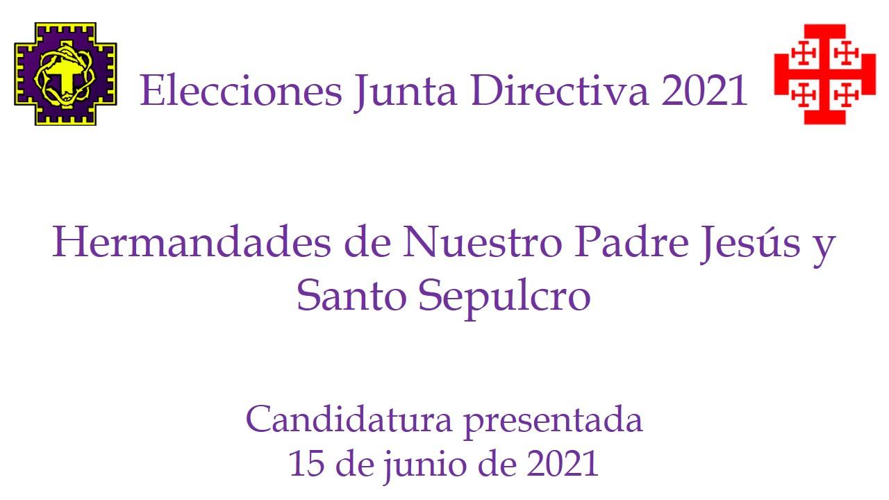 Presentación De Candidatura A Presidente Hermandad